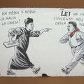 [272] CINZIA TERRUZZI Peppone e Don Camillo Hai messo il rosso nella malta!