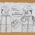 [464] ERICA SALMASO Peppone e Don Camillo Lego