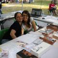 Manuela Congiu e Giorgia Margini si strusciano sudate