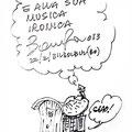 Dedica di Bonfa (ovviamente coi Girovaghi) a Renzo Cugis sulla rivista Kazz8