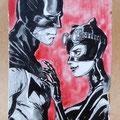 [672] DANIELE ORLANDINI Batman e Catwoman