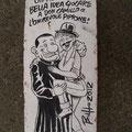 [037] CESARE BUFFAGNI Peppone e Don Camillo Satira