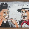 [496] GIUSEPPE CAVALLI Peppone e Don Camillo muratori