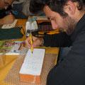 Luigi Ferrazzano concentrato