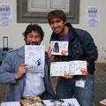Luca Rota Rodari; scambio dediche col Bonfa