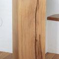 Stele aus Kernbuche 27x27x80cm geölt und gewachst