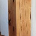 Eichenstele 106 x 29 x 29 cm geölt und gewachst