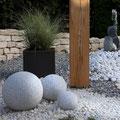 Eichenstele naturbelassen für den Garten