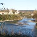 La vallée du gave de Pau à Bellocq