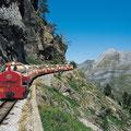 Le petit train d'Artouste dans les Pyrénées