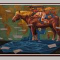 Der Traumwanderer, Öl auf Leinwand 60x80cm