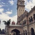 Sultan Abdul Samad Gebäude - das älteste & markanteste Gebäude der Stadt.