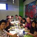 Cena de Erasmus en Beers and Burros