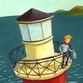 Peer vom Meer, Coverillustration, Boje