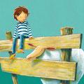Ein Zaun, ein Schaf, ein kleiner Junge und ein großes Problem, Gabriel Verlag