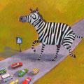 Zebra hat sich verliebt