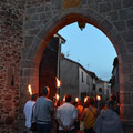 Une des portes des remparts, anciennement la route de Feurs !