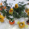 Ancolé-Kindergeburtstag Lustige Vögel filzen