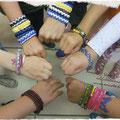 Kinderbegurtstag am 13.08.2014: Schmuckbasteln mit tollen Jungs und Mädels