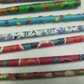 Fomomuster auf Bleistiften