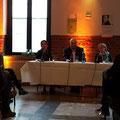 Von hier aus 5: Judith Merchant, Michael Klein und Ursula Gilbert © Literaturhaus Bonn