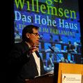 David Eisermann begrüßt unseren Schirmherrn © Cynthia Rühmekorf