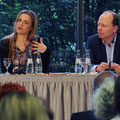 Ruth Kinet und Sebastian Engelbrecht mit Michael Strempel im Haus der Geschichte (c) Stiftung Haus der Geschichte der Bundesrepublik Deutschland/Cynthia Rühmekorf