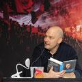 "Thomas Pletzinger stellte im Telekom Dome ""The Great Nowitzki"" vor. (c) Thilo Beu"