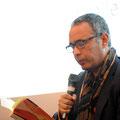 "Kamel Daoud las im Institut français aus ""Zabor"". (c) Lilian Szokody"