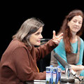 Iris Radisch stellt ihre Camus-Biographie vor, Moderation Almuth Voß © Meike Böschemeyer