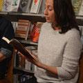 """Ida Hegazi Høyer liest im buchLaden 46 aus """"Trost"""". (c) Literaturhaus Bonn"""