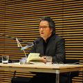 Ralf Rothmann bei der Premierenlesung im Haus der Bildung © Lilian Szokody