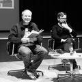 Jochen Schmidt und David Wagner im Haus der Geschichte © Angela Leinen