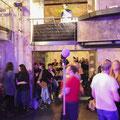 Das Publikum tanzt beim Bal Littéraire © Meike Böschemeyer