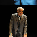 """Michael Degen liest aus """"Der traurige Prinz"""" in der Bundeskunsthalle © Lilian Szokody"""