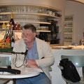 Gisbert Haefs im Café im Kunstmuseum © Literaturhaus Bonn
