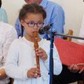 Junge Musikerin