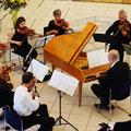 Das Kammerorchester unter Leitung von Kirchenmusikdirektor Reinhold Günther