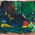 2010   Waldextase  Acryl auf Papier  90x100cm