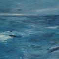 2013  Die Ostsee  Acryl auf Leinwand  70x90cm