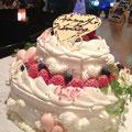 2弾ウェディングショートケーキ