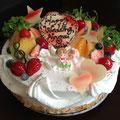 ウエディングショートケーキ