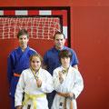 Pöhl, Unterholzner, Betz, Lisy - Judo Club Stockerau