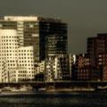 Gehry-Bauten mit Tilt-Shift-Effekt