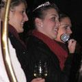 Miriam mit Annika und Carolin