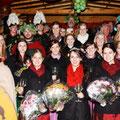 Gruppenfoto der Weinmajestäten vom Mittelrhein