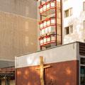 """Crucifix"",  Protestant church Rostock/Lichtenhagen"