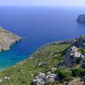 der wunderschöne Strand beim Sikati Cave