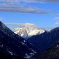Mont Blanc, vom Lillaz Gully aus
