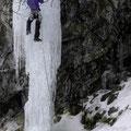 Sentinel Ice, die fragile Säule zum Schluss